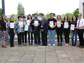 Wyke Students Celebrate Biology Success
