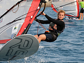 Windsurfing Victory for Wyke Student
