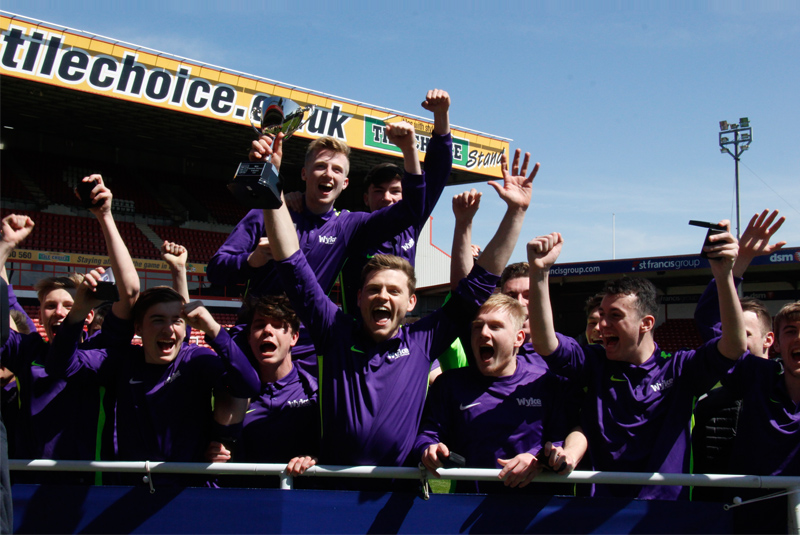 Wyke win the English Colleges FA Cup