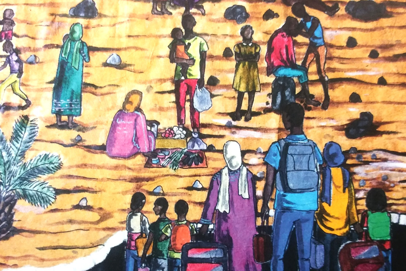 """Drawing Time"" – from Darfur to Hull"
