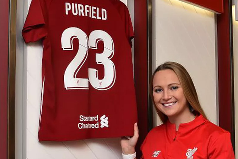 Jemma signs for LFC