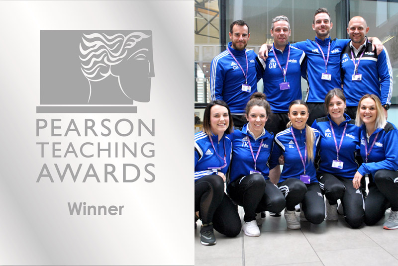 "Wyke Sport, PE & Dance Team wins Silver Teaching Award in UK's ""Oscars for Teachers"""