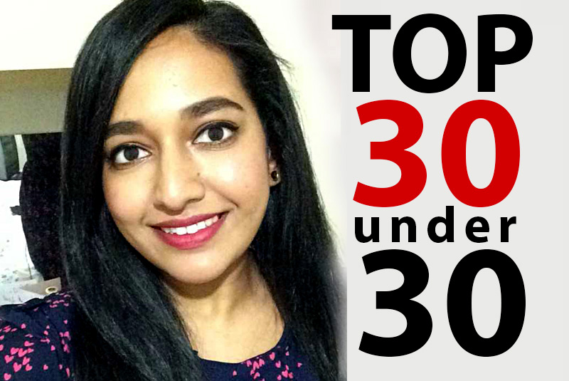 Mandeep Wins Top 30 Award