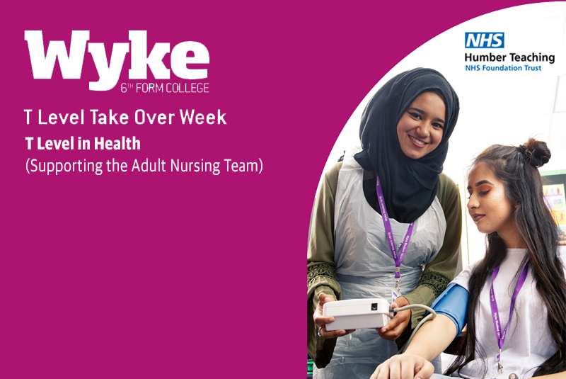 T Level in Health (Specialism: Supporting the Adult Nursing Team)