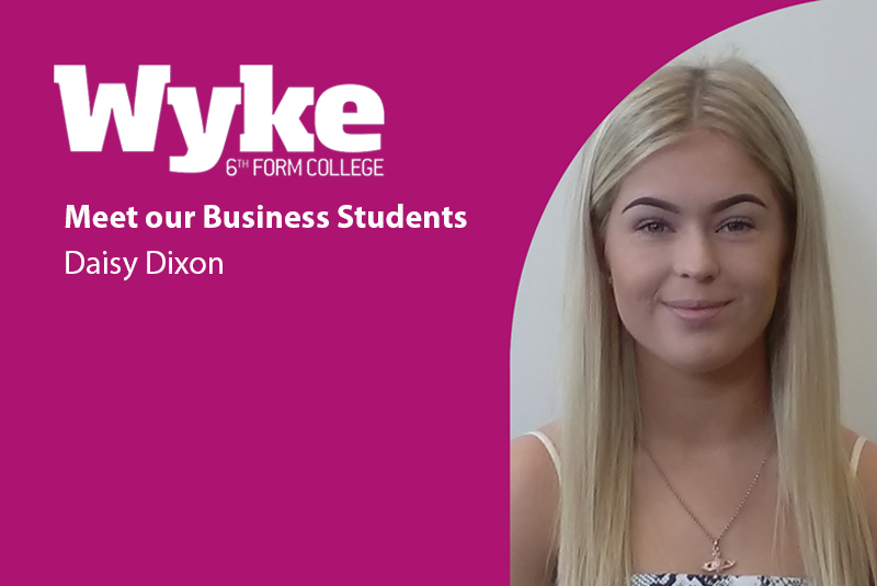 Meet our Business Students: Daisy