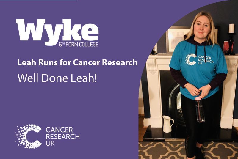 Leah Runs for Cancer Research