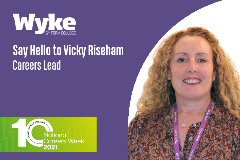 Meet our Careers Team: Vicky Riseham