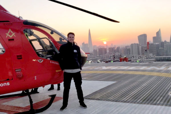 Tom McKenzie, London Ambulance Helipad